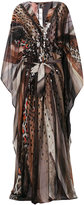Roberto Cavalli Heart of Glass embellished kaftan dress
