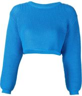 Jeremy Scott knit cropped sweater