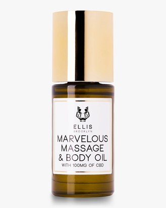 Ellis Brooklyn Marvelous Massage and Body Oil with CBD 30ml