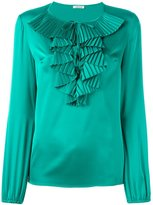P.A.R.O.S.H. ruffled neck blouse - women - Polyester - S