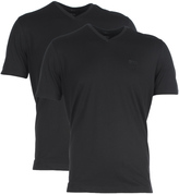 Boss Brothers 01 Black V-neck T-shirt (twin Pack)