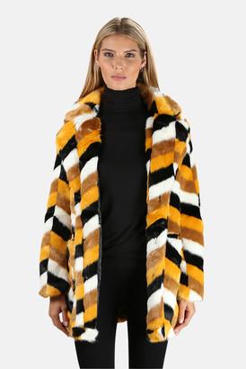 Apparis Camille Faux Fur Coat