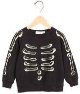 Stella McCartney Boys' Skeleton Patterned Sweatshirt