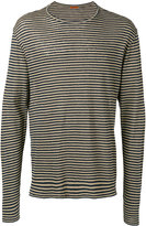 Barena striped longsleeved T-shirt - men - Linen/Flax - S