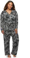 Apt. 9 Plus Size Pajamas: Satin Trim Pajama Set