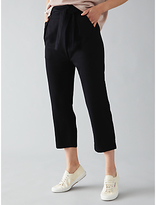 Nümph Siblya Cropped Trousers, Caviar