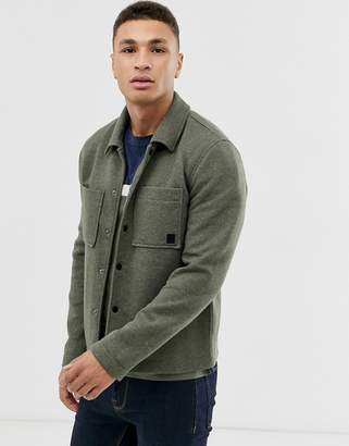 ONLY & SONS two pocket coach jacket in green