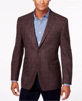Andrew Marc Men's Windowpane Slim-Fit Sport Coat