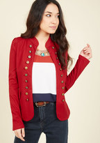 YA (yalosangeles) I Glam Hardly Believe It Jacket in Red