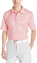 Cutter & Buck Men's Cb Drytec Drift Plaid Print Polo