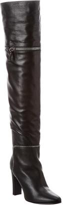 Giuseppe Zanotti Leather Over-The-Knee Boot