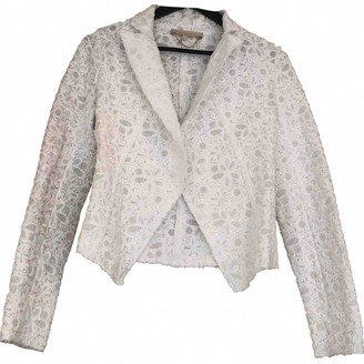 Vanessa Bruno White Cotton Jacket for Women