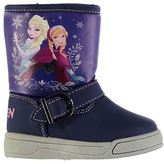 Disney Kids Flat Ankle Boots Infant Girls Buckle Strap Casual Winter Shoes