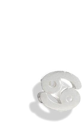 Bing Bang Tiny Zodiac Cancer Single Stud Earring