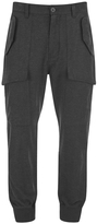Helmut Lang Men's Exposed Pocket Joggers Grey