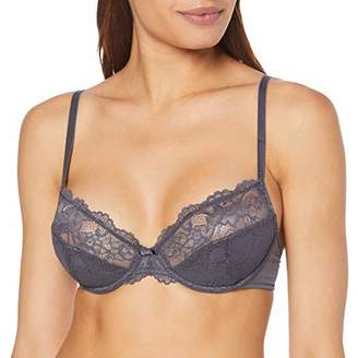 Triumph Women's Tempting Lace W Non-Padded Wired Bra,(Size: 80C)