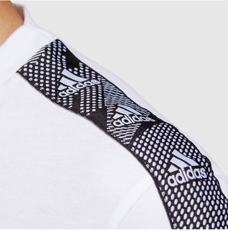 adidas Essential Tape T-Shirt - White