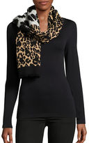 Marc Jacobs Dotted Leopard Shawl