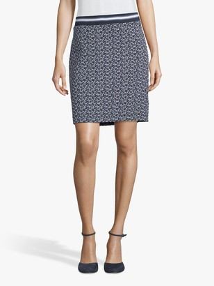 Betty Barclay Textured Pencil Skirt, Blue