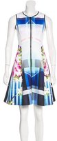 Clover Canyon Printed Flare Dress