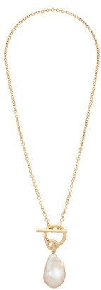 Charlotte Chesnais Fine Jewellery - Saturn Pearl & 18kt Gold Necklace - Yellow Gold