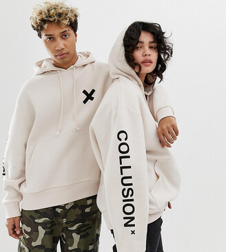Off-White Collusion COLLUSION Unisex logo hoodie in