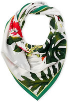Vince Camuto Tropic Floral Square Silk Scarf