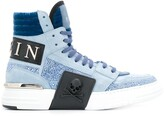 Philipp Plein logo hi-top sneakers