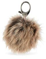 Rebecca Minkoff Dyed Arctic Fox Fur Key Fob