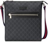Gucci GG Supreme messenger bag - men - Cotton/Leather/Canvas - One Size