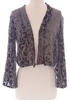 Winter Kate Women's Jade Silk Swirl Burnout Jacket