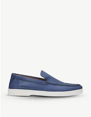 Ermenegildo Zegna Oasi leather loafers
