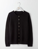 Boden Cashmere Crew Cardigan