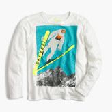 J.Crew Boys' long-sleeve Yeti skiing T-shirt