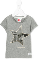 American Outfitters Kids - star print T-shirt - kids - Cotton/Lurex - 4 yrs