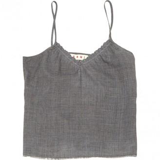Marni Grey Wool Tops