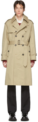 MACKINTOSH Beige Edinburgh Trench Coat