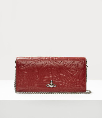 Vivienne Westwood Alexa Long Wallet With Chain Red