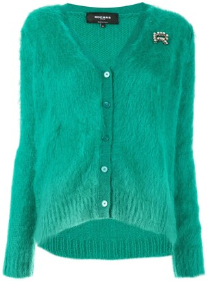Rochas embellished knitted cardigan