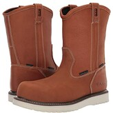 Ariat Rebar Wedge Pull-On H2O Composite Toe (Golden Grizzly) Men's Work Boots