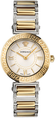 Versace Tribute Watch with Bracelet Strap, Two-Tone