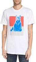 Altru Men's 'Pop Bear' Graphic Crewneck T-Shirt