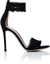 Gianvito Rossi Women's Lola Ankle-Strap Sandals-BLACK
