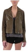 Rag & Bone Women's Mercer Suede Moto Jacket