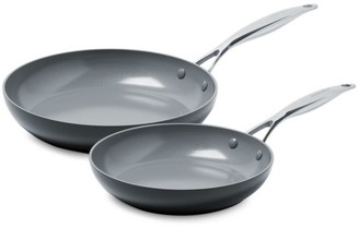 Green Pan Valencia Pro Ceramic Non-Stick 2-Piece Fry Pan Set