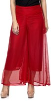 One Femme Women's Self-design Solid Color Palazzo / Pants