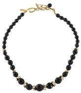Oscar de la Renta Bead & Crystal Necklace