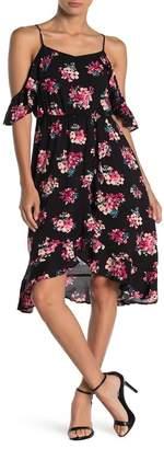 19 Cooper Spaghetti Strap Floral Dress