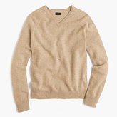 J.Crew Tall lambswool V-neck sweater