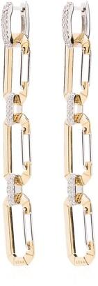 EÉRA 18kt gold Chiara drop earrings